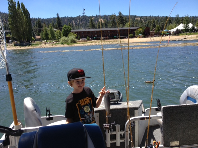 Cantrell Fishing Big Bear Lake California
